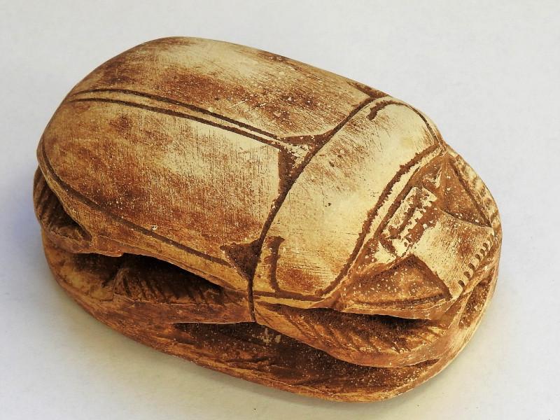 il mito dello scarabeo nell'antico Egitto